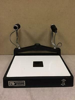 Research Devices Infrared Microscope Model J Used Free Shipping Great