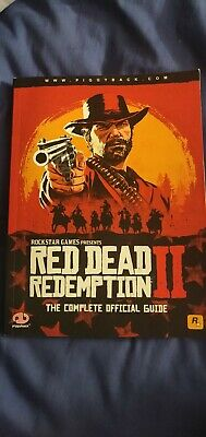 Red Dead Redemption 2 guide book. Official Piggyback edition