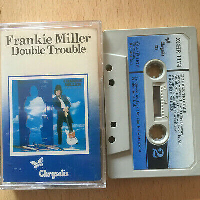 Frankie Miller - Double Trouble - Tape Cassette Album