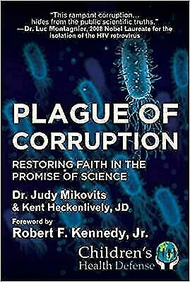 Plague of Corruption by Judy Mikovits Brand New HARDCOVER 2020