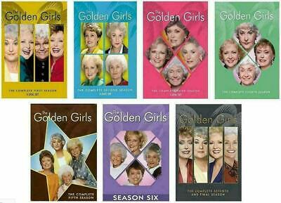 The Golden Girls Complete Series DVD Bundle Season 1-7 (21-Disc) New Sealed
