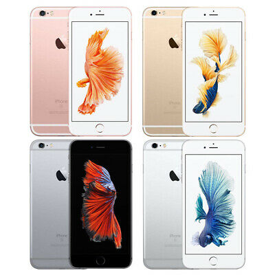 Apple IPhone 6s 16GB Factory Unlocked Smartphone Grey Gold Silver Rose Gold