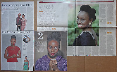 Chimamanda Ngozi Adichie - clippings/cuttings/articles pack