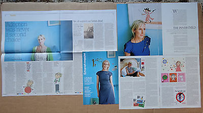 Lauren Child - clippings/cuttings/articles pack