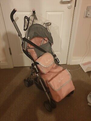 Silver Cross 1371040 Pop Dolls Pushchair - Vintage Pink