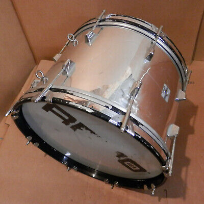 Remo USA 18x12 Marching Bass Drum! Nice Sound! Look!