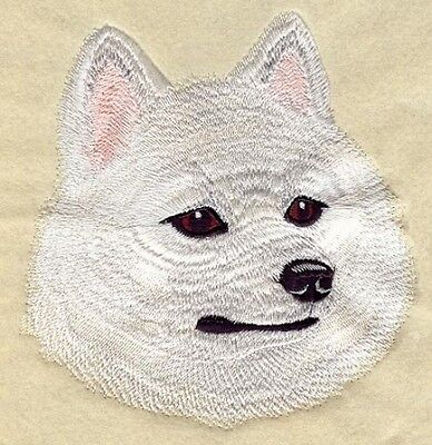 Embroidered Long-Sleeved T-shirt - American Eskimo I1222 Sizes S - XXL