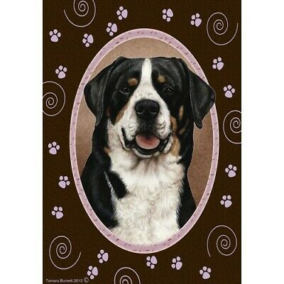 Paws House Flag - Greater Swiss Mountain Dog 17144