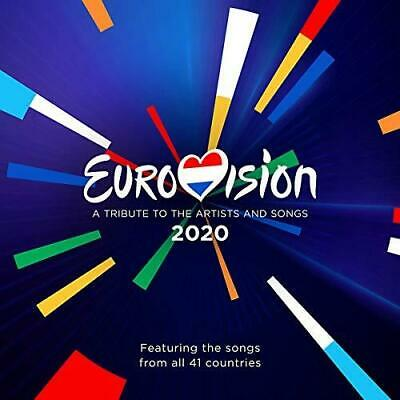 Eurovision 2020 - A Tribute To The Artists And Songs - Various Artists (NEW 2CD)