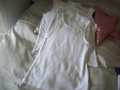 Marks & Spencer M&S Autograph Girls Vest Tops White 6-7 Next Post