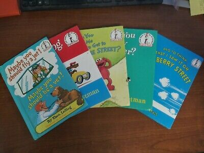 lot of 5 DR. SEUSS Bright & Early, I Can Read It All By Myself HARDBACK Books