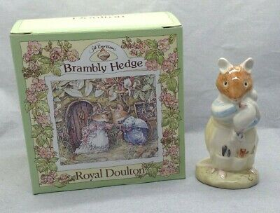 Lovely Royal Doulton Brambly Hedge Dusy and Baby DBH26 Porcelain Figurine SU1338