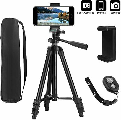 Trepied Appareil Photo/smartphone/GoPro/Camera avecTélécommande Bluetooth,