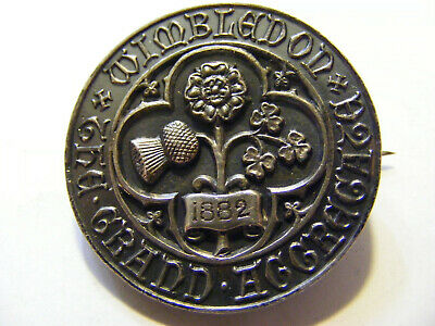 A 1882 Wimbledon Medal / Badge , Nice Condition, 31mm not sure if Tennis related