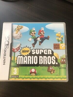 Nintendo Ds Super Mario Bros Excellent Condition Plus Manual Fully Tested