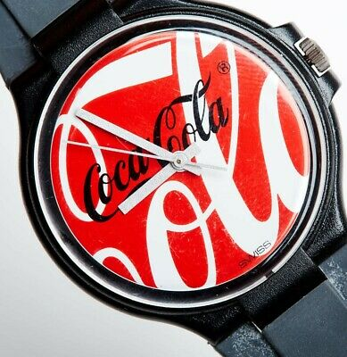 Rare 80's Coca Cola Watch with Ice Cube Case. Never worn! Like new!