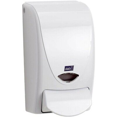 DEB Soap Dispensers for 1Ltr Cartridge White Hand Soap instant foam wall Mounted
