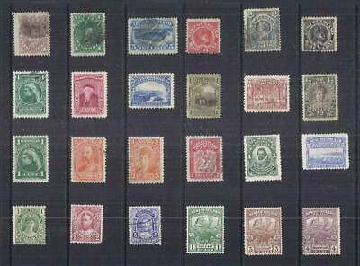 D114 Newfoundland / A Small Collection of Early & Modern  Lhm & Used