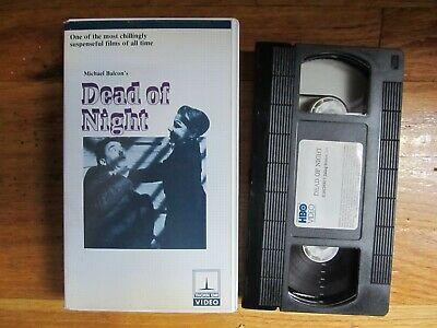 Dead of Night VHS Thorn EMI clamshell horror cult rare anthology