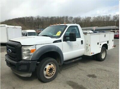 2011 Ford F450 Open Utility