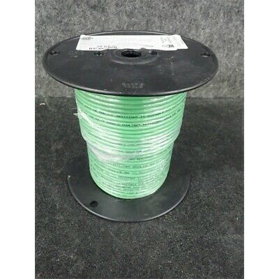 GCG Hook-Up Wire, 200ft Reel, 10AWG, STR, Green Respooled No Box
