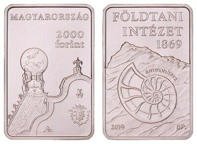 KUF.060} HUNGARY 2000 forint 2019 / Geological Institute / UNC