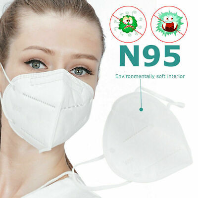 Face Mask Surgical Disposable Mouth Guard Cover Masks Filter Respir UK