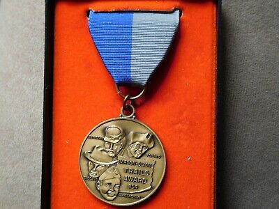 Tt Scout Bsa Mason Dixon Trails Award Medal Still In Box Hiking Recognition !!!!