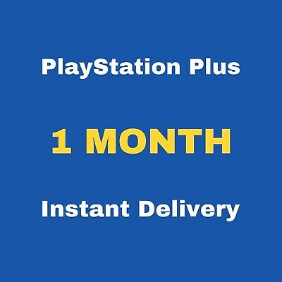 28 Days PlayStation Plus - No Code - PS4 Instant Delivery