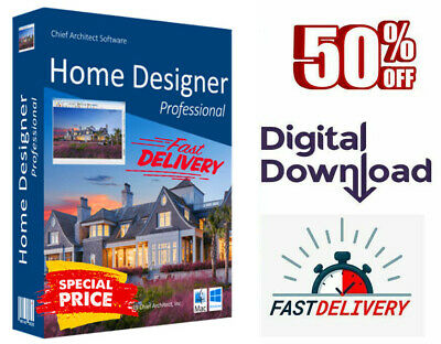 Chief Architect Home Designer Pro 2020 🔥 Life time License 🔥 FAST DELIVERY 10s