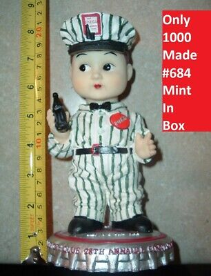 """Coca Cola Buddy Lee Coke Driver MOVING HEAD 8"""" Acrylic Doll #684 of 1000 Made"""