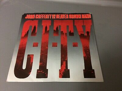 John Cafferty Beaver Brown C-I-T-Y ~ Where The Action Is Ps V 45 7 Q