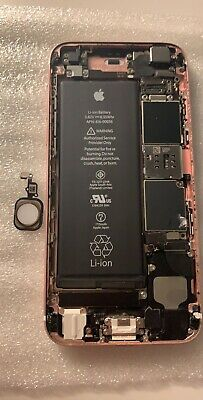 iPhone 6s 32gb Rose Gold Unlocked Motherboard W/Touch ID & Frame