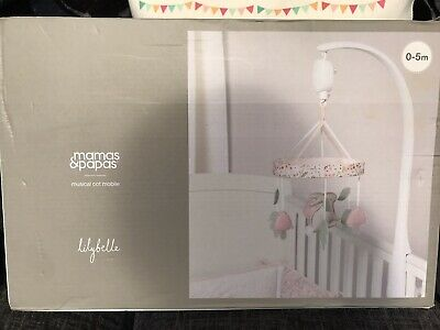 Mamas And Papas Baby Girls Mobile, Lilybelle, RRP £35 Brand New