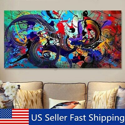Modern Abstract Art Canvas Print Painting Picture Home Wall Decor Unframed