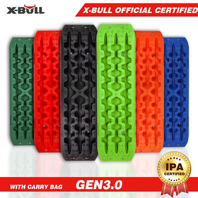 X-BULL Recovery tracks 10T Sand tracks Mud Snow Grass Multicolor 4X4 4WD 1Pair