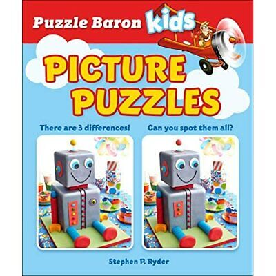 Picture Puzzles (Puzzle Baron) - Paperback / softback NEW Ryder, Stephen  12/02/