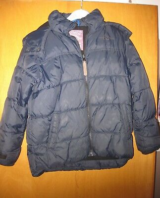 Kid's 2 Anorak style jackets. bothNavy, suit 6/7 yr olds. One never used.