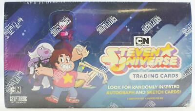 Steven Universe Seasons 1-5 Trading Cards Hobby Box Sketch+Auto