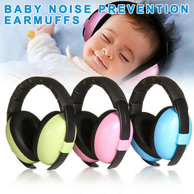 Anti-Noise Earmuffs for Children Hearing Protector Noiseproof Earmuffs for Baby