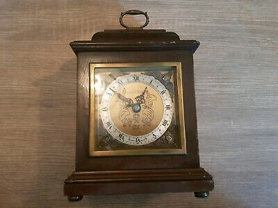 Mappin Webb Elliot London carriage clock wood vintage