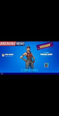 FORTNITE ACCOUNTS!! Renegade Raider RAFFEL 5$ A Ticket Raffle Ends Soon