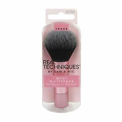 Real Techniques Mini Travel Size Multitask Makeup Brush for Blush, Bronzer or