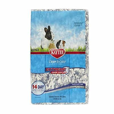 Kaytee Clean and Cozy Super Absorbent Paper Bedding, Extreme Odour Control, 40