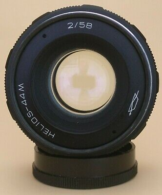 HELIOS 44M 58mm f2 SWIRLY BOKEH PRIME LENS. M42 MOUNT. UK SALE. GREAT CONDITION