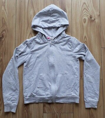 Girls H&M GREY ZIP HOODIE AGES 10 - 12 YEARS USA    *58