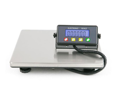 SF-887 200kg / 50g High Quality Digital Postal Scale Silver Without Adapter Blac