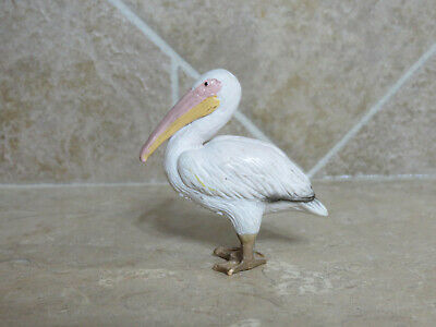 retired Schleich #14142 Pelican white bird toy animal collectible 98-99 only