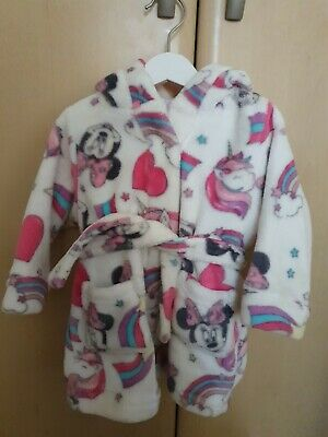 Baby Girls 6-9 Months Minnie Mouse Dressing Gown