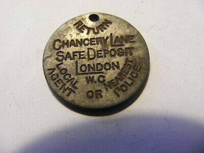 A Chancery Lane Safe Deposit London 5 Shillings Token - Nice condition- 22mm Dia